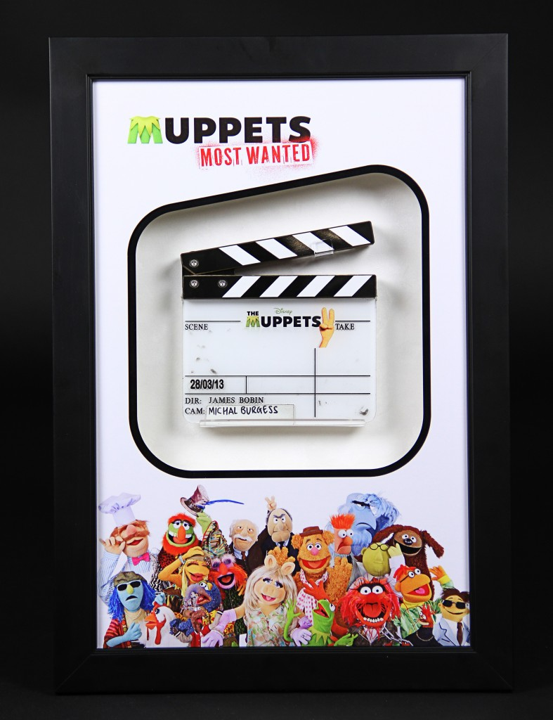 Muppets- Clapperboard Display1