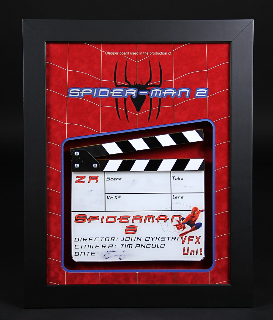 Spiderman2-VFXClapperboard1