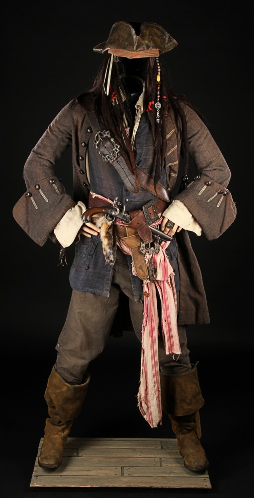 Pirates Of The Caribbean- Cpt Jack Costume 1