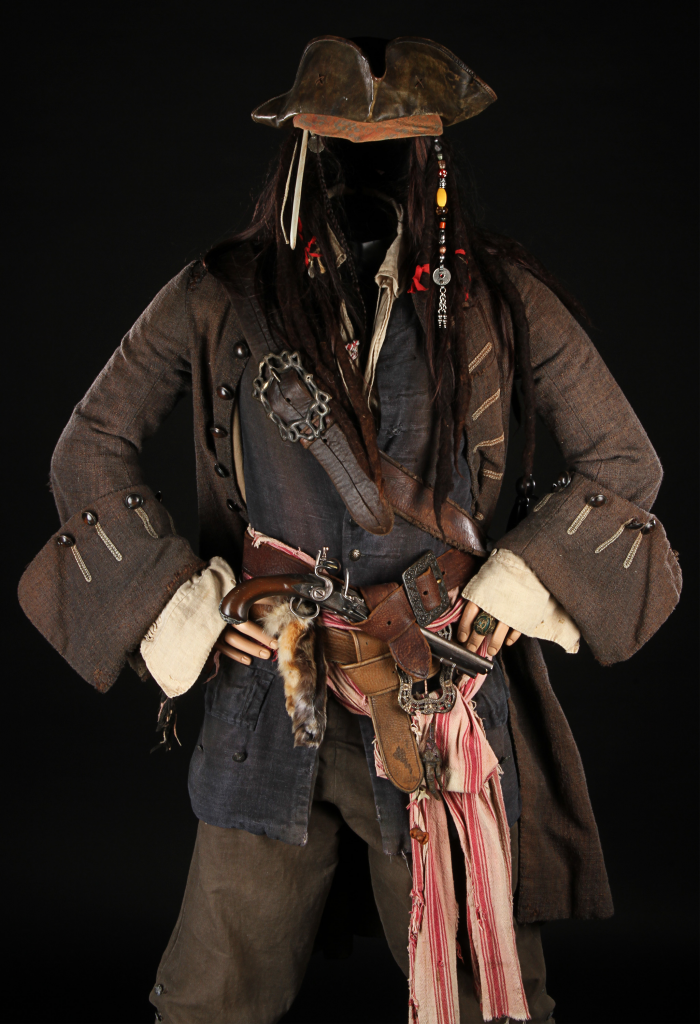 Pirates Of The Caribbean- Cpt Jack Costume 2