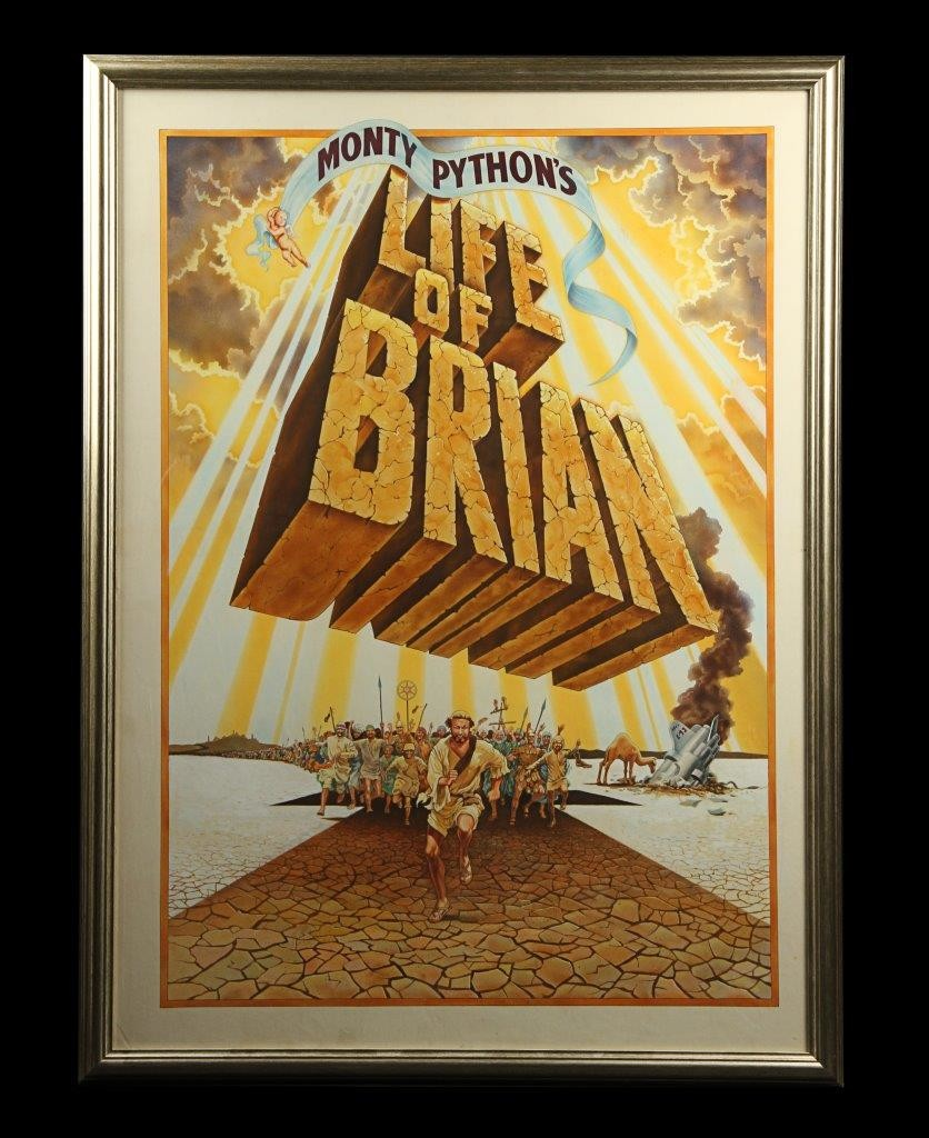 Monty Pythons Life Of Brian- Framed Poster (1)