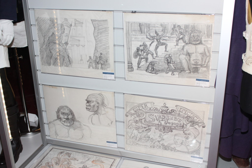 propstore-exhibition-harryhausen-art-2