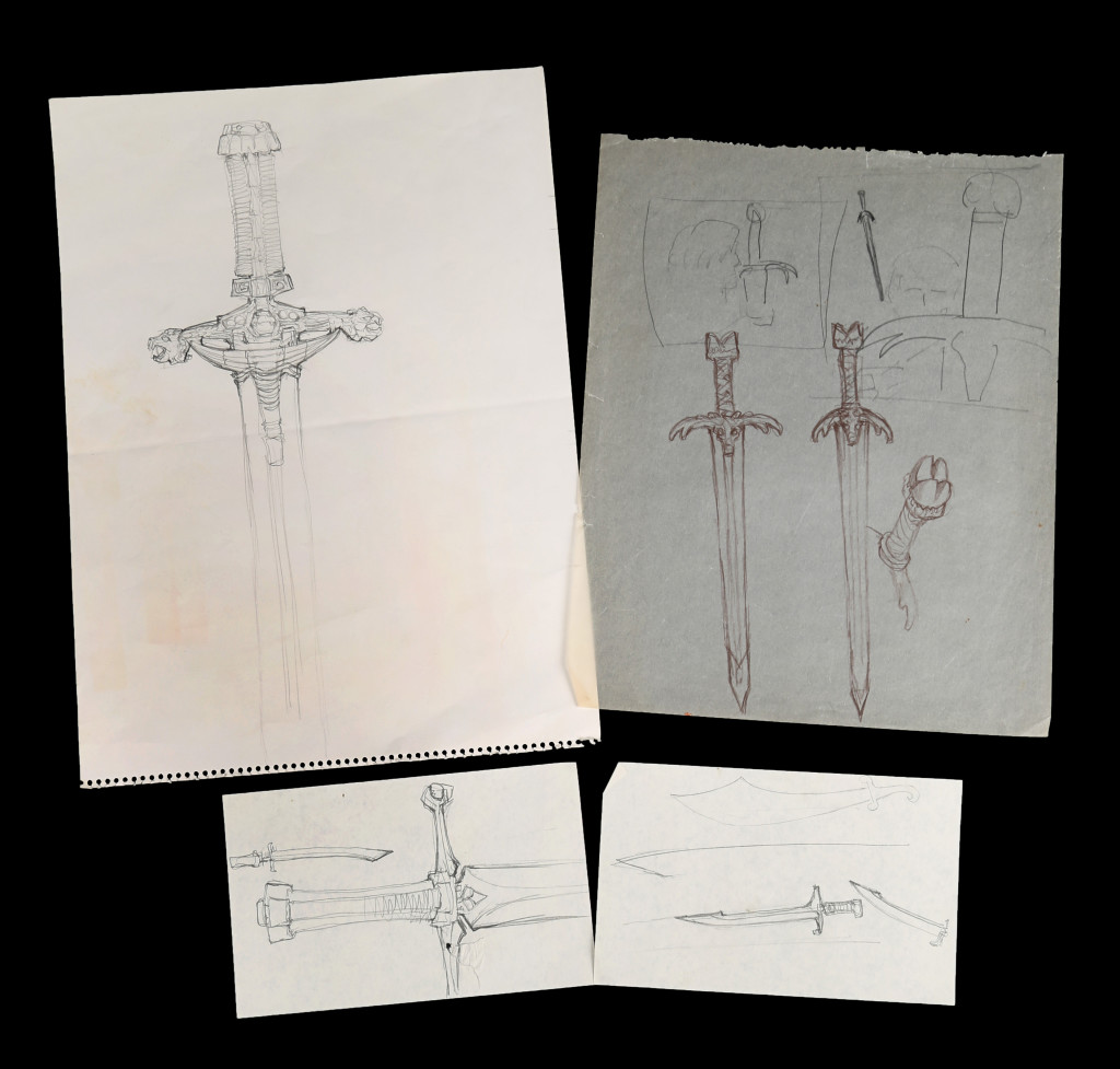 Prop Store Conan Movie Items 73554_Ron-Cobb-Hand-Drawn-Sword-Designs_1-1024x977
