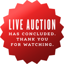 Watch the LIVE AUCTION streaming now